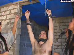 Russian-Mistress Video: Mia &  Lilu tube porn video