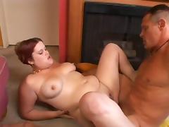 Papa - Chunky Redhead gets fucked tube porn video