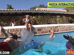 Saboom Video: Big Birthday Partyfuck In Ibiza tube porn video