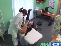 FakeHospital - Perfect busty slim patient tube porn video