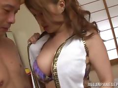 Naughty milfs Ren Aizawa and Yume Mizuki have hardcore fun tube porn video