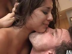Jynx Maze and London Keyes sharing a dick tube porn video
