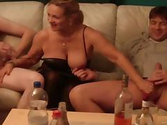 Party starts when cocks get erected for her tube porn video