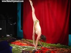 Lina Sadlutova - Gymnastic Video part 1 tube porn video