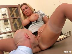 Amazing sex in the office with the beautiful Devon Lee tube porn video