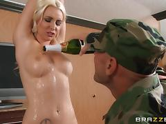 patriotic slut supports the troops tube porn video