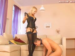 Russian-Mistress Video: Anna tube porn video