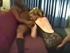 Dilettante Interracial tube porn video