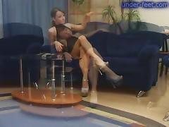 Under-Feet Video: Maya tube porn video