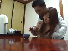 Kokomi Naruse hot Asian milf enjoys a hot time in the outdoor bath tube porn video