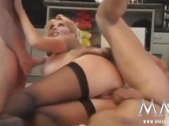MMVFilms Video: Sexy Older Woman Gets Double Penetrated tube porn video