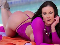 Stunning Kendra Lust Masturbates Before Going Hardcore tube porn video