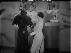 Vintage Porn 1920s Ffm Threesome Nudist Bar tube porn video