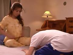 Sakiko Mihara kinky mature Asian babe fucks tube porn video