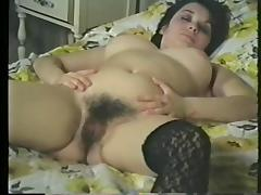 Pointy Tits And Fishnet Stockings tube porn video