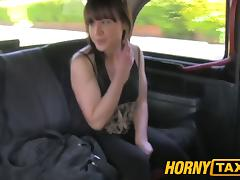 HornyTaxi Married woman takes a good hard fucking tube porn video