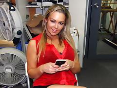 Sexy Big Tit Blonde Fucks Rocker Dude in... tube porn video