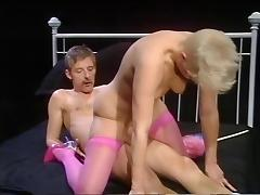 Short Hair, Pink Stockings tube porn video