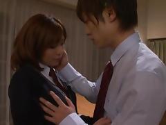 Hardcore teen sex with the beautiful Rin Sakuragi tube porn video