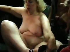 Amateur fatty granny gangbanged by mechanics tube porn video