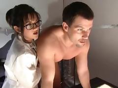Stephanie Swift and Stacy Valentine nurse threesome tube porn video
