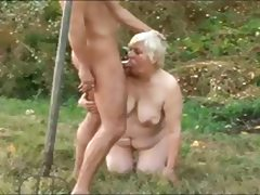 BBW GRANNY WITH FAT ASS GET FUCKED BY DEVIL MASKED MAN tube porn video