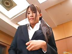 Junna Aoki Hot Japanese teacher tube porn video