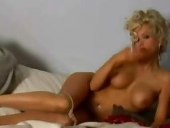 hot silky sheer pantyhose strip tube porn video