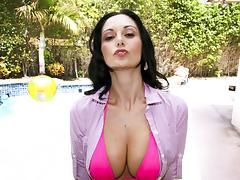 Big Boobs Brunette tube porn video