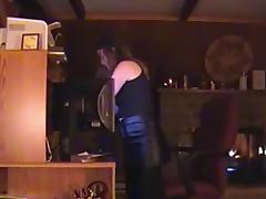 KINKY NERD WANTS TO SUCK COCK WEARING HER NEW CAPE tube porn video