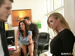 Kendra Lust And Phoenix Marie In A Wild Hardcore Threesome Banging tube porn video