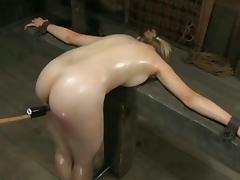 Blondi slaveCaned tube porn video