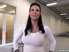 Fantastic rear banging with busty brunette mom Kendra Lust tube porn video