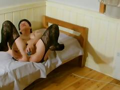 I pump and fuck my wet pussy tube porn video