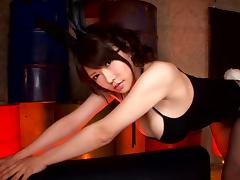 Busty Japanese milf demolished in a harsh fuck tube porn video