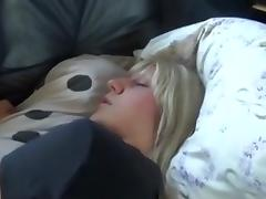 Napping facial hawt golden-haired tube porn video