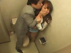Japanese Woman Fucked in the Bathroom tube porn video