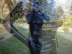 full Latex catsuit tube porn video