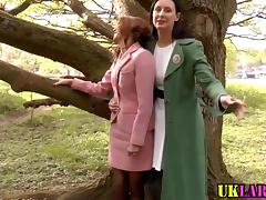 Mature brit lesbians lick tube porn video