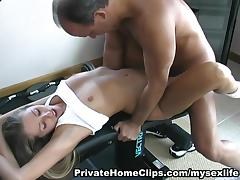 MySexLife Movie Scene: FUCKING WORKOUT tube porn video