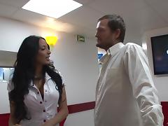 Gorgeous Anissa Kate lets a guy fuck her holes from behind & toy them tube porn video